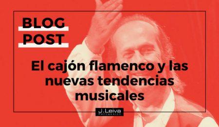 El cajón flamenco y las nuevas tendencias musicales